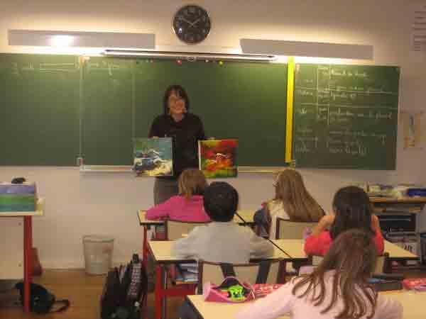 BENA dans la classe de CM1,2014