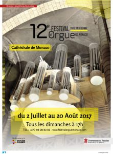 brochure 12 e festival international d orgue de monaco