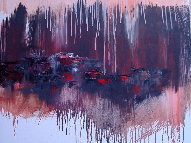 Peinture contemporaine abstraite – serie 2008