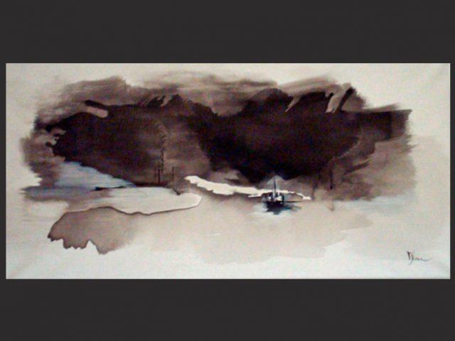 Peinture contemporaine abstraite – serie 2010