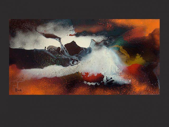 Peinture contemporaine abstraite – serie 2012