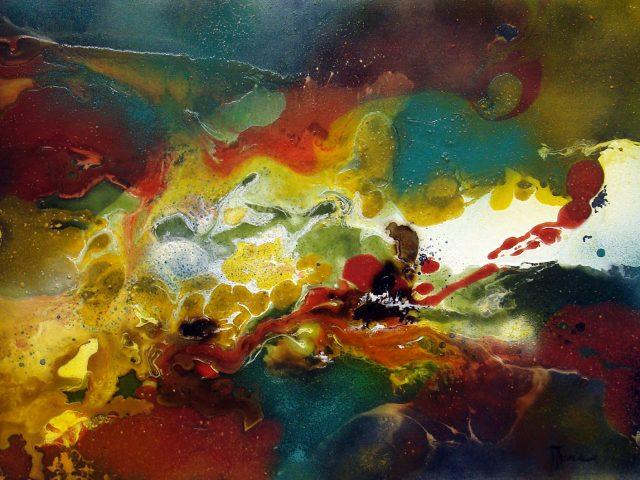 Peinture contemporaine abstraite – serie 2013