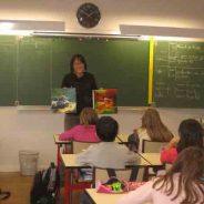 Interventions  à l'école de la Mairie à Jassans-Riottier