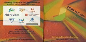 Partenariat avec le Centre Culturel de Gléteins à JASSANS-RIOTTIER