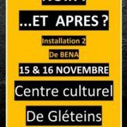 """Exposition """"Noir ! …et après ?"""" au Centre Culturel de Gléteins"""