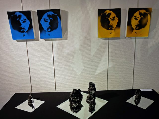 Peinture contemporaine-serie 2014