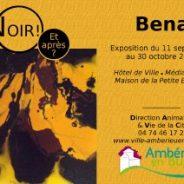 AMBERIEU-EN-BUGEY 01500    3 lieux pour 70 œuvres de Bena du 11 septembre au 30 octobre 2015