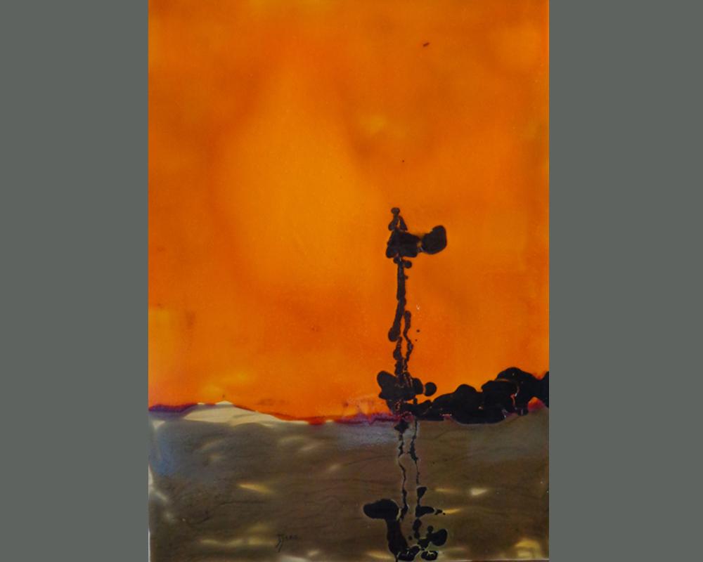 Bena Noir !...Et apres serie 3 sans titre 48 50 x 70 c, technique mixte