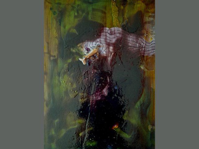 Peinture contemporaine abstraite errance 1 – Série 2020