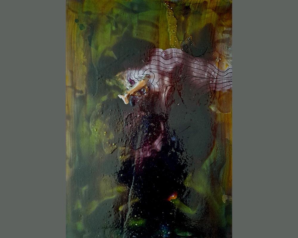 Peinture n°1 - Peinture contemporaine abstraite errance 1 – Série 2020