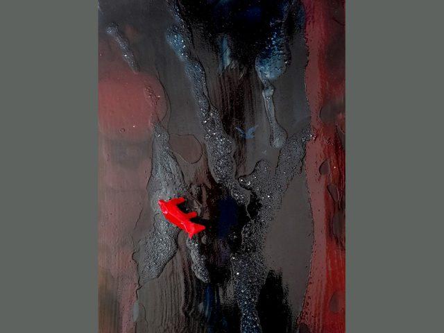 Peinture contemporaine abstraite errance 2 – Série 2020